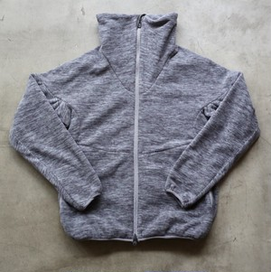 White Mountaineering PRIMALOFT FLEECE HIGH NECK TRACK TOP