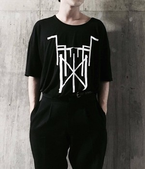 acid android×THE NOVEMBERS collaboration cut-sew
