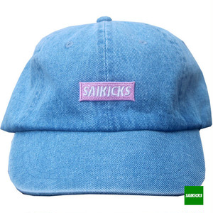 SAIKICKS BOX LOGO COTTON 6PANEL CAP