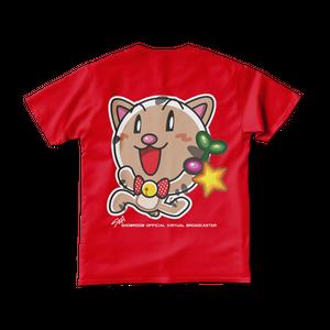 <レッドTシャツ 背面>回収みーちゃん