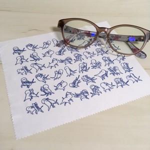 メガネ拭き 猫相撲【受注生産】