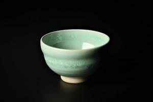 ヒワ釉いっぷく碗 清水焼