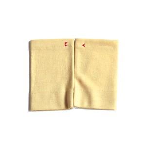 佩 リストマフラー(C/#03 ハニーイエロー) ウール100%で手首暖か