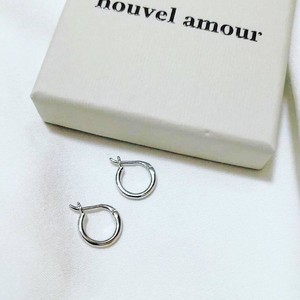 [Nouvel Amour] シンプルフープペアピアス