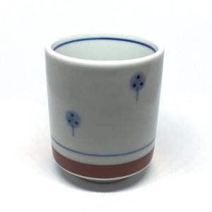 【砥部焼/梅山窯】切立湯呑(たんぽぽ)