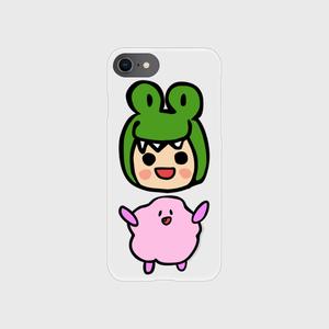 笑うアリー&ファジー スマホケース (iPhone)