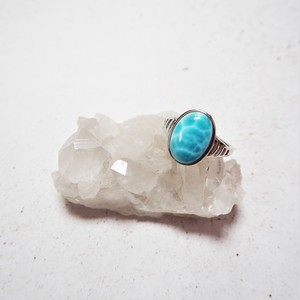 Larimar Ring 《medium》#1
