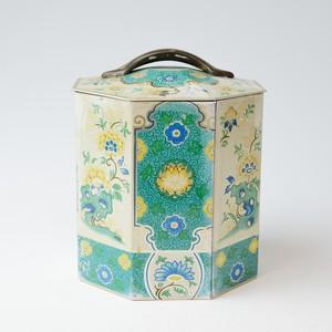 ビンテージ缶 イギリス 20011104002 アンティーク缶 tin缶 紅茶缶 ビスケット缶 ブリキ 雑貨
