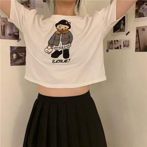 ベアアップリケ2パターンTシャツ