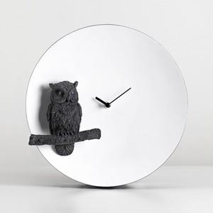 デザイン雑貨 Moon Clock-Owl