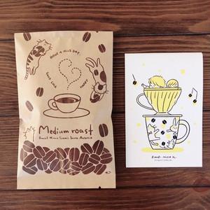 のだかおり × CLOUDS コーヒー&ポストカードセット