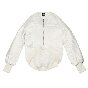 Back Organdy Blouson (White)