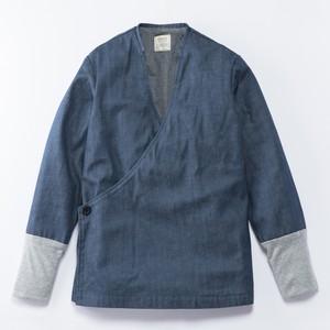 JK-15 立衿作務衣 デニム