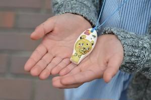 ミニセラリーナ6音 動物柄(くま)子供の指先能力向上やプレゼントに♪