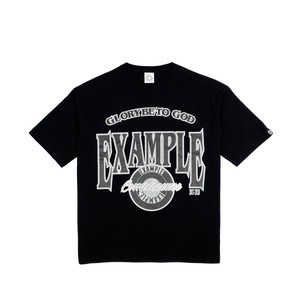 EX GAME TEE / BLACK x GRAY