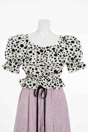 Dalmatian Puff Tops