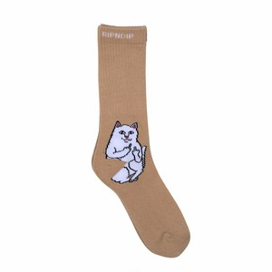 RIPNDIP - Lord Nermal Socks (Tan)