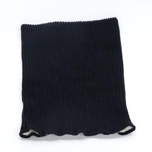 絹と炭のネックウォーマー ブラック / グレー / ピンク