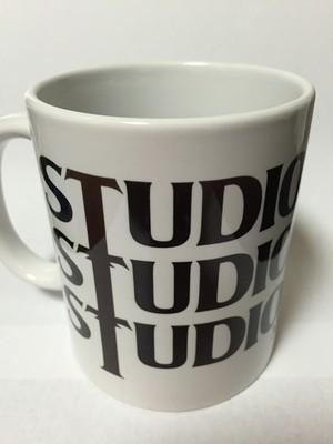 STUDIOORANGE スタンダードマグ(ホワイト)(STUDIOORANGE缶バッジ付)