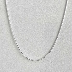 【SV1-48】18inch silver chain necklace