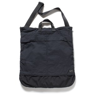 WM × PORTER HELMET BAG - BLACK