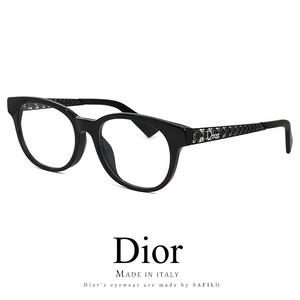 Dior メガネ レディース diorama06f-807 眼鏡 アジアンフィット ディオール Christian Dior クリスチャンディオール ボストン型 ウェリントン型