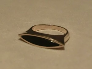 MARQUISE ONYX RING