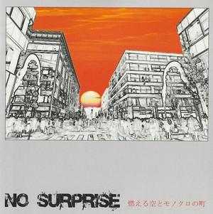 No Surprise「燃える空とモノクロの町」