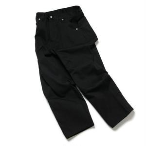 """TUKI(ツキ) """"work pants"""" ワークパンツ (BLACK)ブラック"""