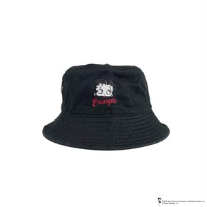 EXAMPLE x BETTY BOOP BUCKET HAT / BLACK