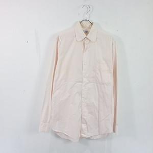VAN HEUSEN / ヴァンヒューゼン   50s ヴィンテージ ラウンドカラーBDシャツ 裾マチ   15   ライトピンク   メンズ