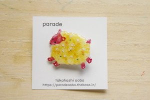 <NEW> parade brooch 羊