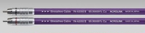 ◆◆ACROLINK(アクロリンク) 7N-A2050 III RCA/1.0mペア【RCAインターコネクトケーブル】 ≪定価表示≫大変お得な販売価格はお問い合わせ下さい!!