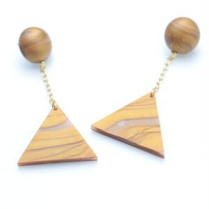 triangle chain pierce_gold_#007