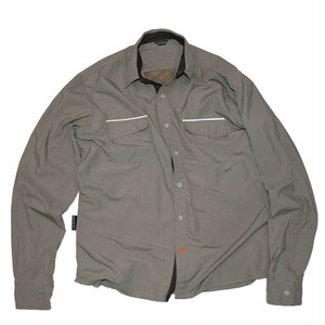 """BIRDBIKE""  Cotton × polyester L/S Shirts"
