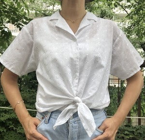 Euro White shirt 【Vintage product】