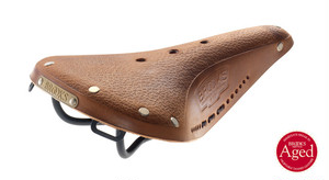 "BROOKS ""B17 STANDARD"" Aged Dark Tan"