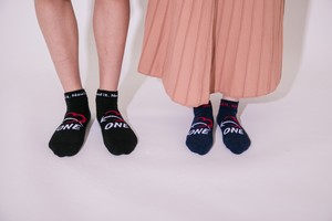 ONE-A0102 NOW I NEED IT ANKLE SOX(NAVY)
