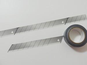 マスキングテープ 「カッターの替え刃風」