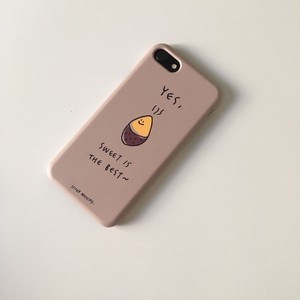 新機種追加!! [second morning] ベージュコグミ ハード iPhoneケース (全8種)