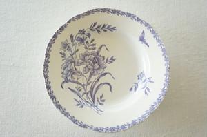 花柄・スープ皿
