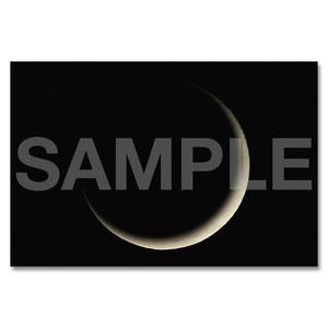 月のポストカード 〈三日月〉