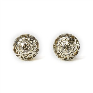 Old european-cut Diamond Stud Earrings