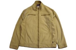 USED パタゴニア ジップアップフリースジャケット ベージュ M  patagonia