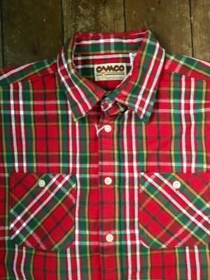 Bo Sport × CAMCO Heavy Retro Flannnel Shirt(Red)