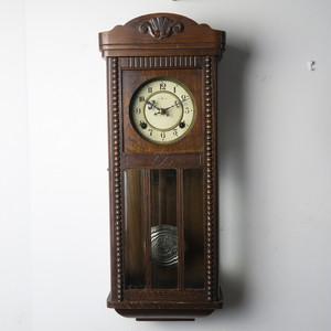 センコウ舎 大正期 宮型スリゲル柱時計