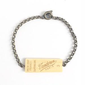 シングルリードのレディース用リバーシブルブレスレット  Reversible single reed bracelet ( L ) for Lady's