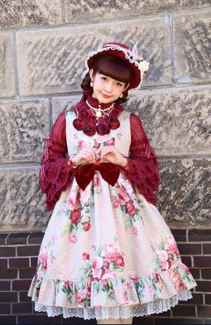 Bouquet of Rose ジャンパースカート