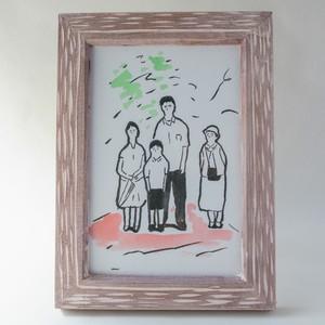 ポストカードサイズ作品「是枝監督の映画」