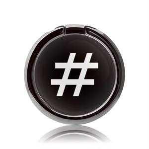 SMART RING-TYPO SERIES-#Black